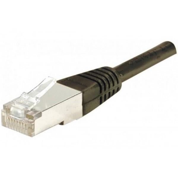 Câble RJ45 CAT 6 FTP 1m Noir