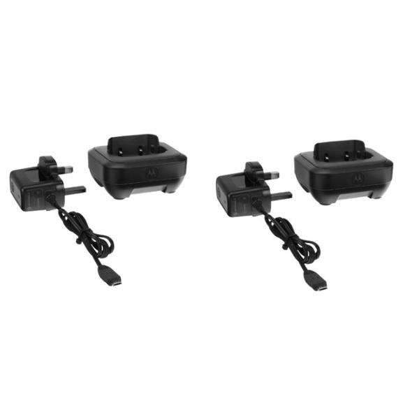 Pack de 2 socles de chargement pour Motorola TalkAbout T82