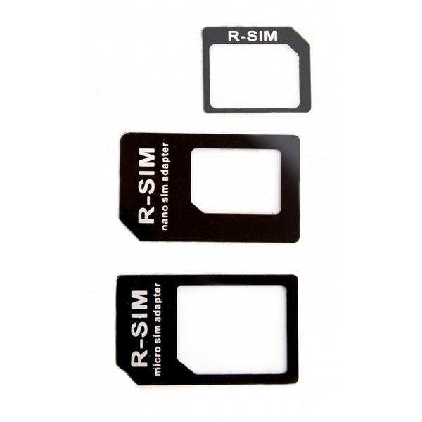 Adaptateur Carte Sim Nano + Micro Sim 3 en 1