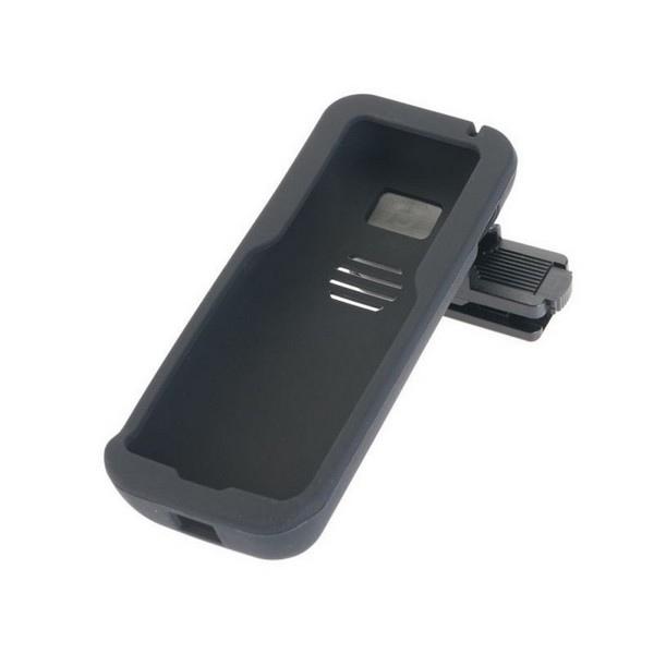 Coque en silicone avec clip pour Alcatel 8232S
