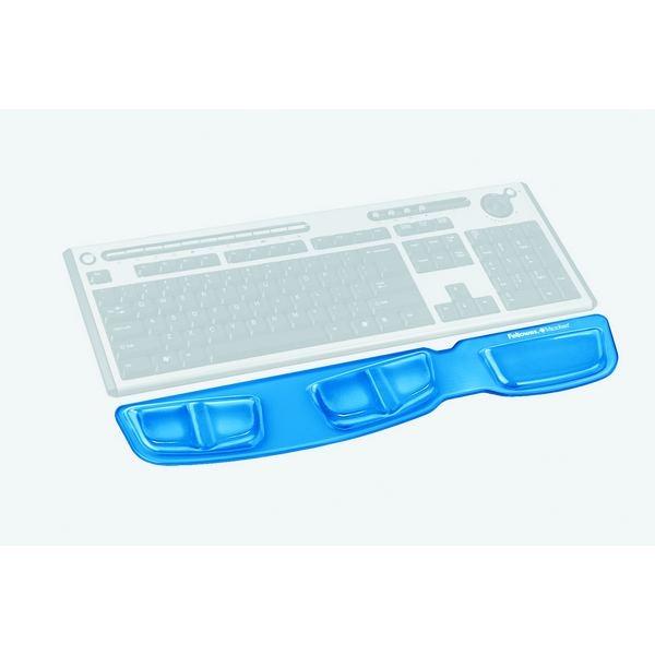 Repose poignet clavier Health-V™ Crystal Bleu Fellowes