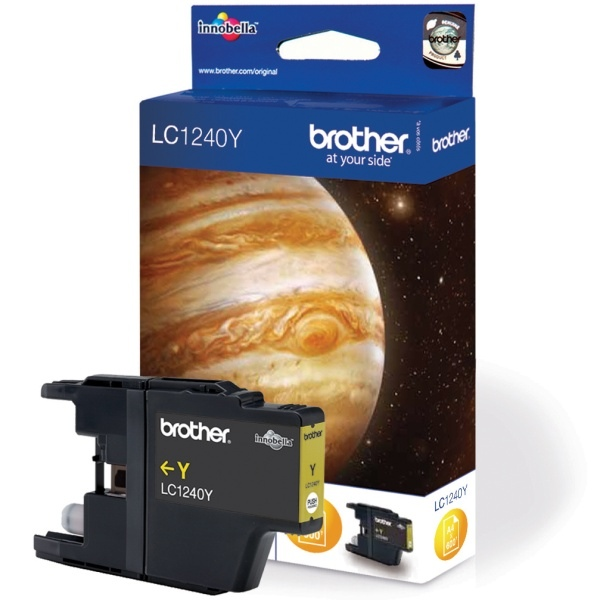 Cartouche Brother Jaune LC1240Y