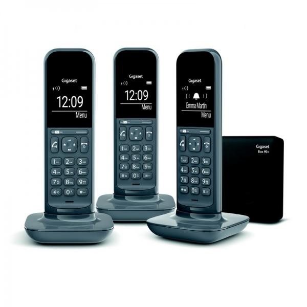 Gigaset CL-390A Trio Téléphones sans fil DECT
