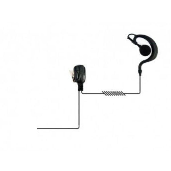 Contour d'oreille avec connexion pour Motorola DEP DP MTP XiR