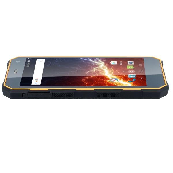 MyPhone Hammer Energy - Orange et noir - Téléphone / Smartphone - Durci / Résistant / Étanche