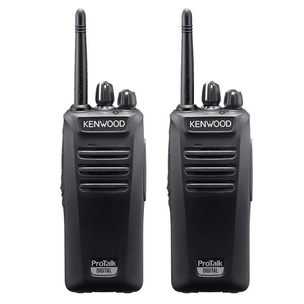 Pack Duo en promo : 2 talkies Kenwood TK-3401D