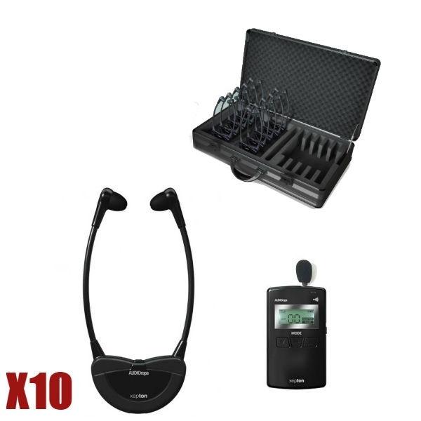 Audioropa mallette complète Xepton Tour Guide