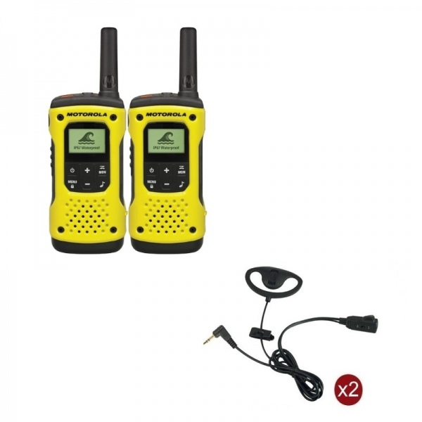 Pack de 2 Motorola T92 + Contour d'oreilles
