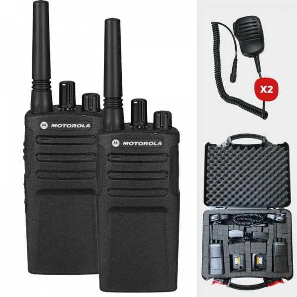 Pack complet Moxt420 dans mallette résistante avec Micros HP déportés