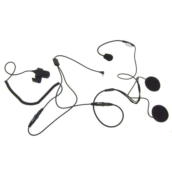Micro casque pour talkie-walkie Motorola 1 pin