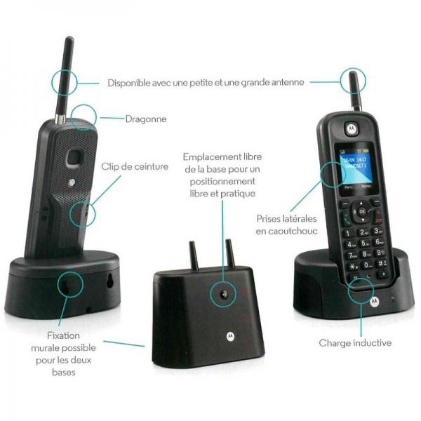 Motorola O201 DECT