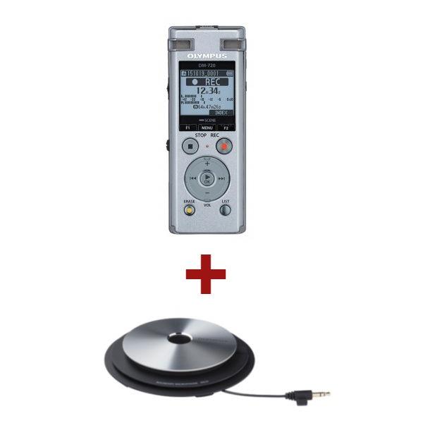 Olympus DM-720 + 1 micrófono ME-33