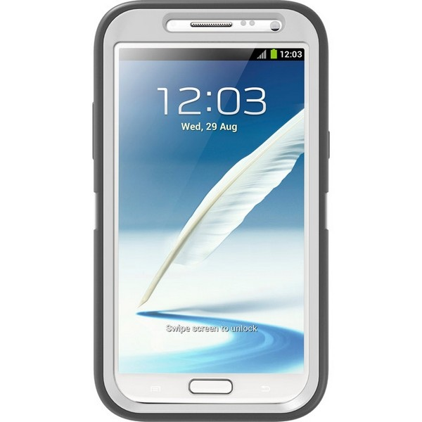 OtterBox Coque Defender pour Samsung Note 2 Blanc