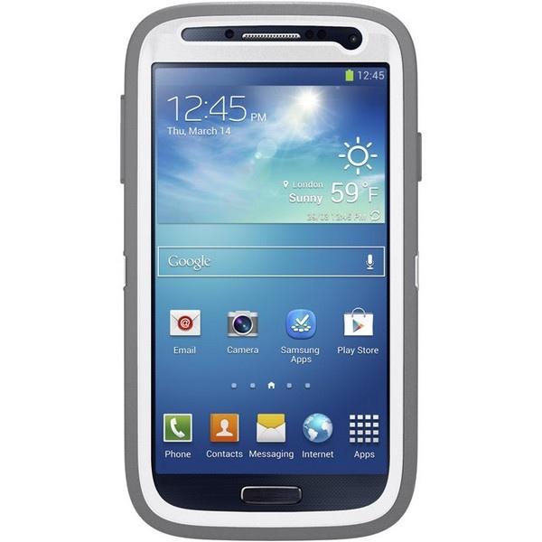 OtterBox Coque Defender pour Samsung S4 Blanc