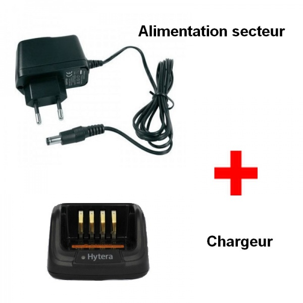 Chargeur complet pour Hytera
