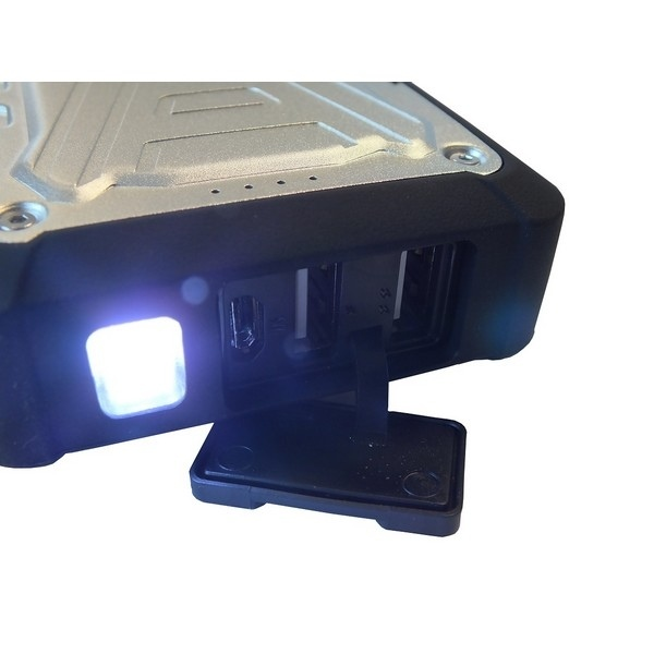 Vernee V2 Pro Noir + Powerbank PB2001