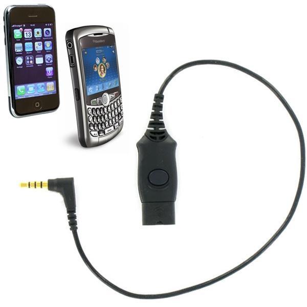 Cordon de connexion sur iPhone
