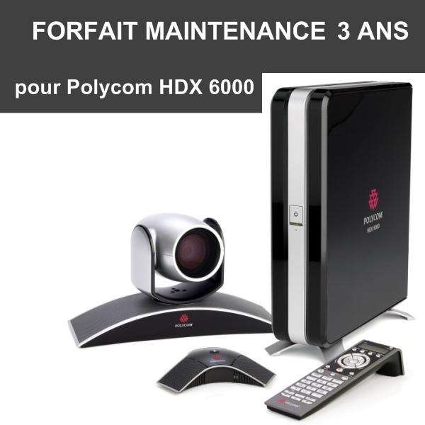 Forfait maintenance Premier 3 ans - HDX 6000