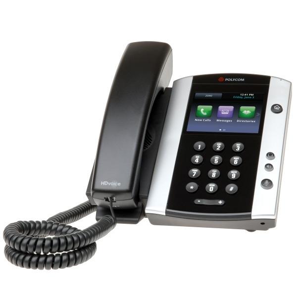 Polycom VVX 500 VoIP Phone 2200-44500-025 IP Telephony