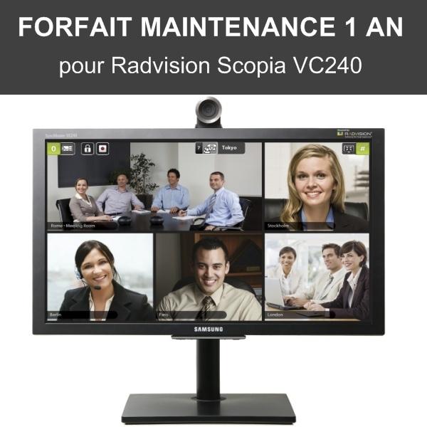 Forfait maintenance 1 an - Scopia VC240