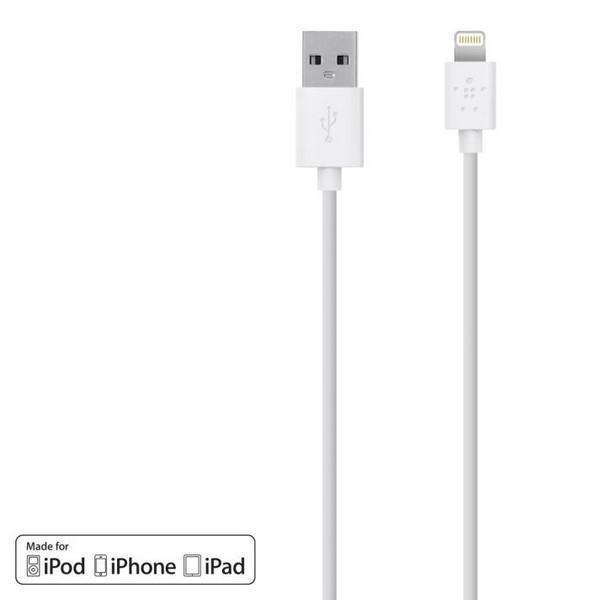 Câble Sync - charge 1.2 m blanc