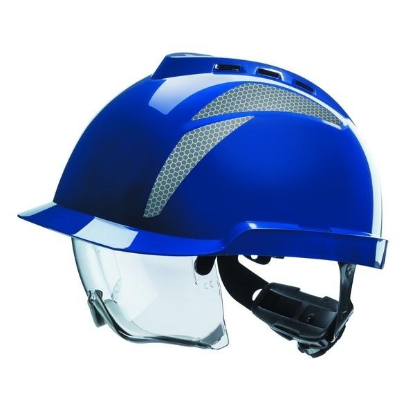 MSA V-Gard 930 Ventilé avec lunettes intégrées - Bleu