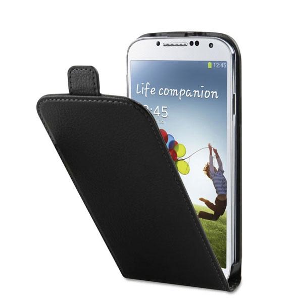 Etui cuir Flipcover pour Galaxy S4