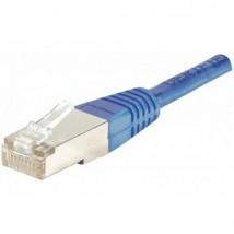 Câble RJ45 CAT 6 FTP 1m Bleu