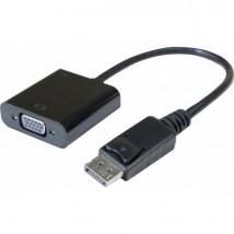 Convertisseur actif Display Port 1.2 vers VGA - 15cm