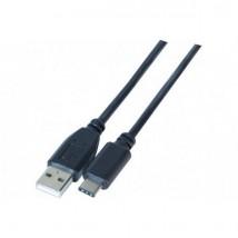Cordon USB-A 2.0 vers USB-C 2.0 1m