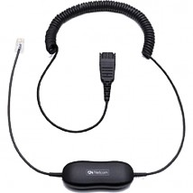 Câble droit 0,5m Smartcord universel / QD / RJ9