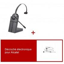 Pack casque Cleyver HW20 pour Alcatel