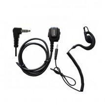 Micro PTT + oreillette détachable pour Dynascan