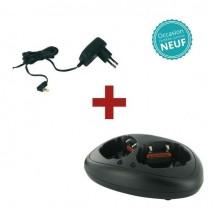 Chargeur double et alimentation pour Talkie-Walkie Motorola T80