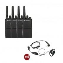 Pack de 4 Motorola XT420 + Contour d'oreilles