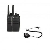 Pack de 2 Motorola XT420 + Micros haut-parleurs déportés