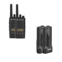 Pack de 2 Motorola XT460 + Batteries de rechange
