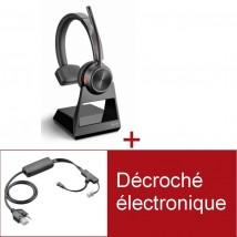 Pack Plantronics Savi 7210 Office Mono Pour téléphones Poly