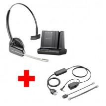 Pour poste Alcatel série 8 et 9 : Savi 740 + cordon décroché électronique à distance APA-23