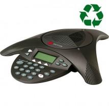 Polycom Soundstation 2 NE avec écran Reconditionné + 1 mois d'abonnement gratuit