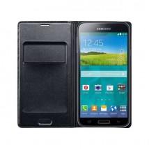 Samsung Etui Wallet noir pour Samsung S5