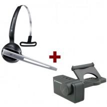 Pack liberté: Casque DW 10 Phone + levier mécanique de décrochage à distance HSL10