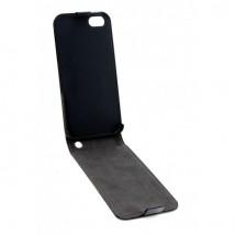 Etui cuir Flipcover pour iPhone 5/5S