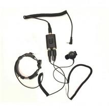 Micro oreillette laryngophone pour dynascan 1D