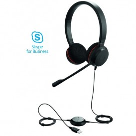 Casque USB Jabra Evolve 20 UC MS Duo
