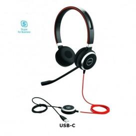 Jabra Evolve 40 MS Duo USB-C
