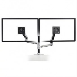 Ergotron Bras LX double écran superposés