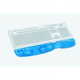 Repose poignet clavier Health-V™ Crystal Bleu Fellowes