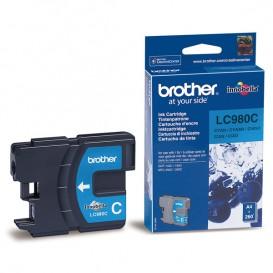 Cartouche Bleu Brother LC980C
