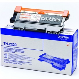 Toner noir 2600 pages Brother TN-2220